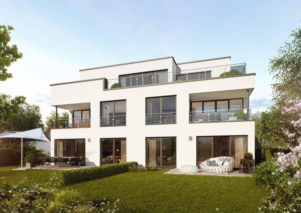 Neubau stadtvilla dortmund kirchh rde for Moderne grundrisse wohnungen beispiele