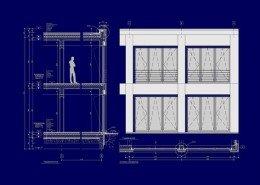 FH Bibliothek Anbau Entwurf