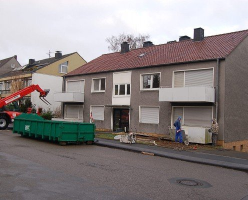 Sanierung eines Wohnhauses zum Effizienzhaus in Dortmund
