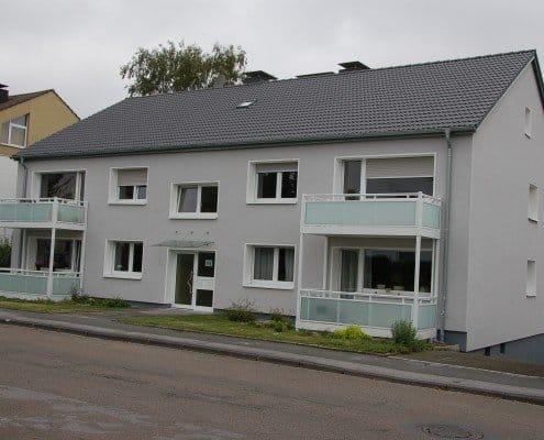 Gebäude nach der Sanierung